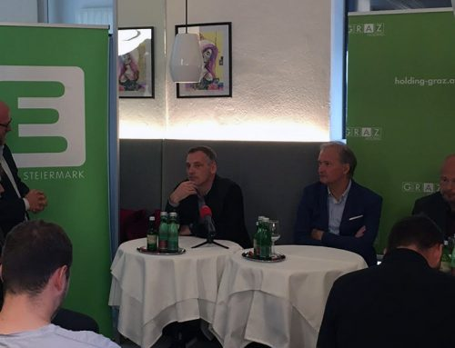 Pressekonferenz des UBSC Raiffeisen Graz für die Saison 2021/22