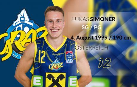 Lukas Simoner - UBSC Raiffeisen Graz