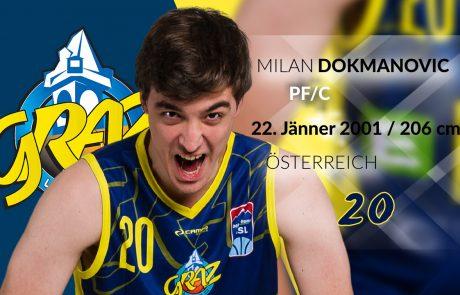 Milan Dokmanovic - UBSC Raiffeisen Graz