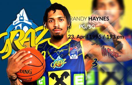 Randy Haynes - UBSC Raiffeisen Graz