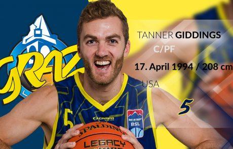 Tanner Giddings - UBSC Raiffeisen Graz