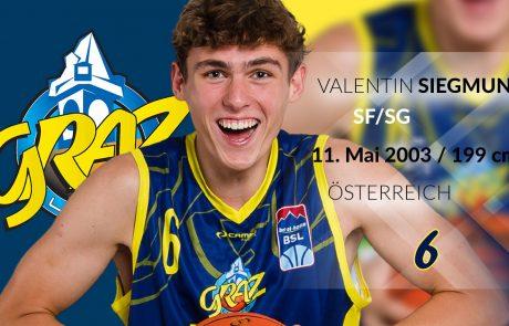 Valentin Siegmund - UBSC Raiffeisen Graz
