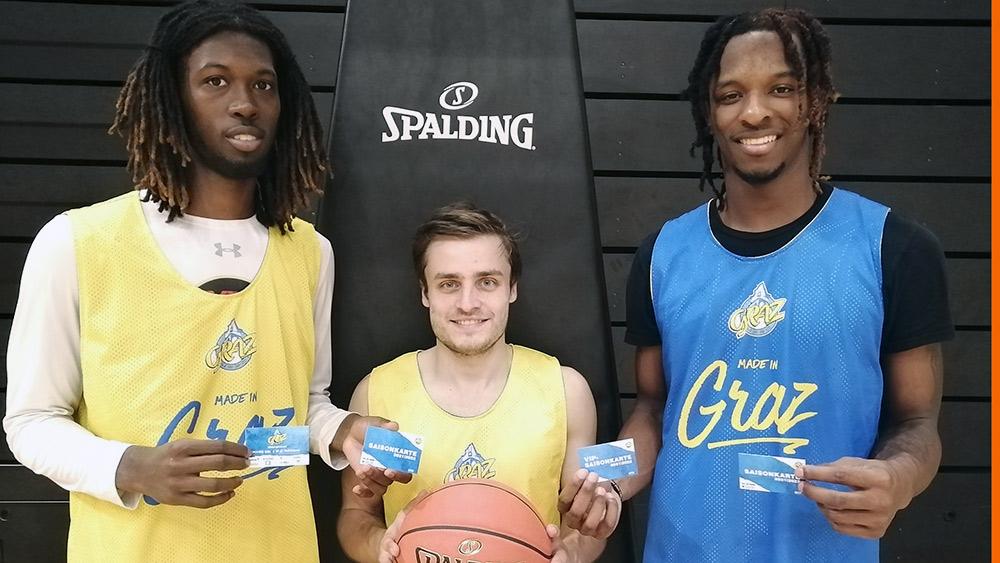 Nun geht`s auch in Graz los mit der Basketball-Superliga